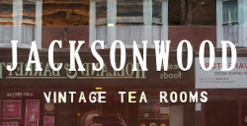 Jackson Wood Vintage Tea Rooms